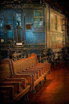 Estação Número 9 - Foto de R. J. Laudenbacher.