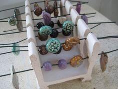 Beads of Clay Blog: Tool Talk Thursday: Small Kiln Bead Racks Part I