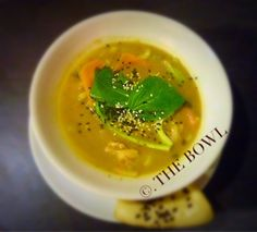 My delicious thai green curry soup! Click to view the recipe on my website   .THE BOWL .