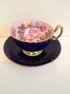 Poison Tea cup on Etsy, $30.00