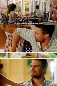 Arrow - Oliver & Felicity #4.1 #Season4 #Olicity