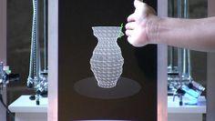 l'Artisan Electronique, Part 1: Virtual Pottery Wheel by Unfold. Virtual Pottery Wheel from the installation l'Artisan Electronique by Unfold & Tim Knapen.