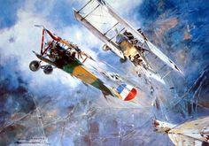 191603-18 Jean Chaput - Paul Lengelle 18 March 1916, 800m in the skies…
