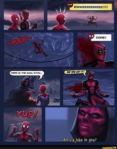 Spideypool Spideypool Related posts: Hilarious Avengers Memes That Will Make You laugh Like an Insane - Marvel Comics - Agents of Atlas - Ken Hale Avengers Humor, Marvel Jokes, Funny Marvel Memes, Dc Memes, Marvel Dc Comics, Marvel Heroes, Funny Comics, Marvel Avengers, Deadpool Comics