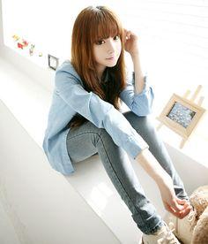 #Ulzzang #Cute #Girls Park Hyo Jin ♥