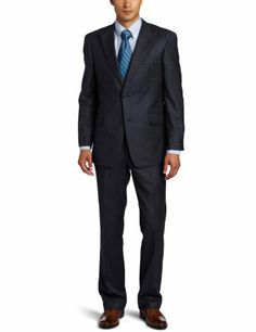 Tommy Hilfiger Men's Houndstooth Trim Fit Suit « Clothing Impulse