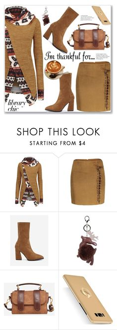 """Casual Chic Coat and Skirt"" by jecakns ❤ liked on Polyvore"
