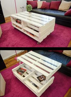 Pin by HolzWood on Recycelte Paletten in 2019 Diy Pallet Furniture, Diy Pallet Projects, Wood Furniture, Furniture Ideas, Palette Deco, Modern Outdoor Kitchen, Wooden Diy, Wood Pallets, Diy Home Decor