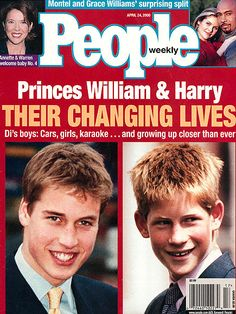 APRIL 2000    William and Harry distinguish themselves from the stereotypes of royalty, excelling at Eton College and maturing under the protective eye of their father.