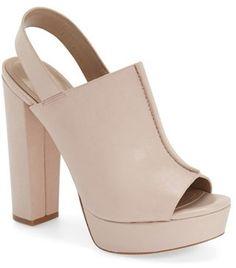 BCBGMAXAZRIA 'Dune' Platform Sandal (Women)