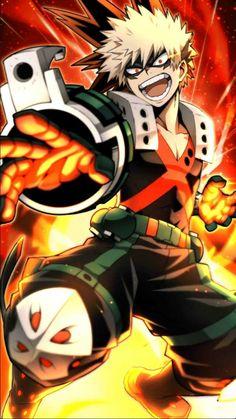 Bakugou Katsuki - Boku no Hero Academia - Image - Zerochan Anime Image Board My Hero Academia Shouto, My Hero Academia Episodes, Hero Academia Characters, Deku Anime, Bakugou Manga, Art Carte, Estilo Anime, Hero Wallpaper, Tsundere