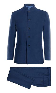 Blue Mao wool Suit http://www.tailor4less.com/en-us/men/suits/4009-blue-mao-wool-suit