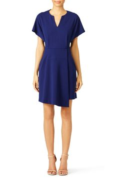 Rent Navy Lustra Dress by Tibi for $70 only at Rent the Runway.