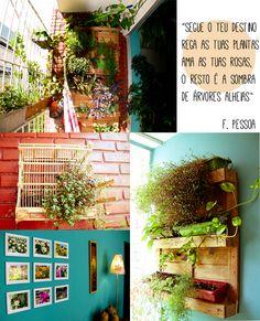 A sala verde e colorida da Paula
