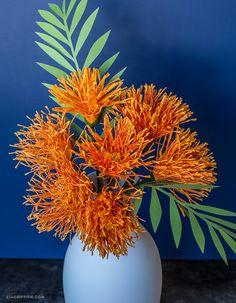 A tropical treat! Make our crepe paper pincushion flowers and add to your Pacific Islands paper flower bouquet. Faux Flowers, Diy Flowers, Paper Art, Paper Crafts, Paper Bouquet, Tissue Paper Flowers, Tropical Flowers, Flower Tutorial, Handmade Flowers