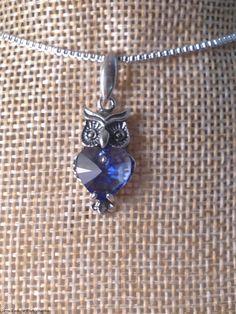 #necklace #pendant #beauty #elegant #swarovski #crystal #swarovskicrystal #sterling #silver #sterlingsilver #925silver #blue #colourful #handmade #handmadehour #CRAFTfest #craft #craftbuzz #craftbiz #jewellery #jewels #chic