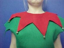 How to make an easy elf costume costume pinterest elves elf collar for play costume solutioingenieria Choice Image