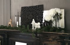 Landlig interiør, julepynt, piano, christmas decoration, Jesus, country house, interior Country, Painting, Home, Art, Art Background, Rural Area, Painting Art, Ad Home, Kunst