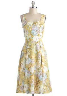 I need this dress to become the modern Laura Ingalls Wilder.  #modcloth
