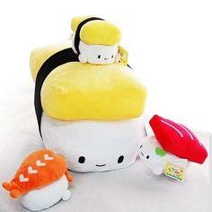 Cojines Sushi cute | Noticias | Todokawaii