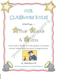 Our Classroom Rules starring Officer Buckle and Gloria