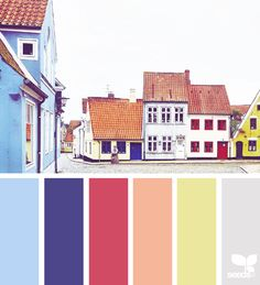 today's inspiration image for { color wander } is by . thank you, Maria, for another fantastic image share! Colour Pallete, Colour Schemes, Color Combos, Color Patterns, Color Palettes, Pantone, Design Seeds, Palette Design, Color Palette Challenge
