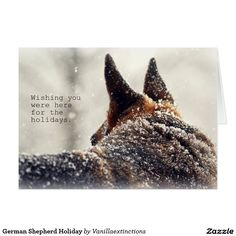 Shop German Shepherd Pet Loss Sympathy Card created by GermanShepherdStore. Holiday Gift Tags, Holiday Cards, Christmas Cards, Best Dog Breeds, Best Dogs, German Shepherd Photos, German Shepherds, Malinois Dog, Crazy Dog Lady