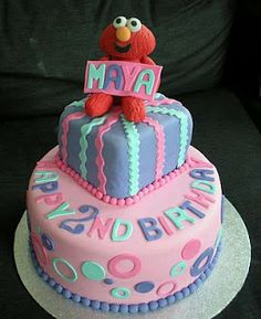 Elmo cakes for children parties