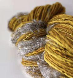 Spincycle Yarns | Siren Song handspun yarn natural  renegadecraft.com/chicago-summer-home