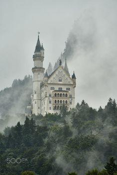 Neuschwanstein Castle by Alexander Hartmann / 500px