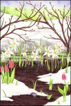 Ostara by stardustfaery.deviantart.com on @deviantART  Spring Equinox solitude.