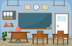 university, educational concept, blackboard and table. Classroom Rules, School Classroom, Teacher Toolkit, Blackboards, Room Interior, Gallery Wall, Education, Wallpaper, Frame