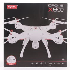 103.47$  Buy here - http://ali72d.worldwells.pw/go.php?t=32789361946 - Syma X8SC 2.4G 4CH 6-Axis RC Quadcopter RTF Drone with 2.0MP HD Camera Barometer  Air Press Altitude Hold RC Remote Control