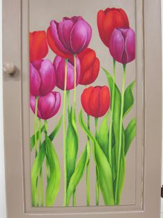 """DVD """"Les Tulipes"""" de la collection""""La peinture, ça s'apprend!"""" par Denise Lefebvre"""