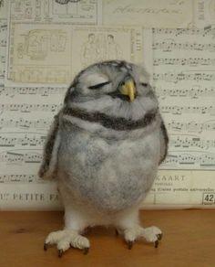 EllesHeart Loves ~ Felted Fauna ~ Pip's poppies: The complete little owl family Felt Animals, Baby Animals, Cute Animals, Needle Felted Owl, Owl Family, Little Owl, Art Textile, Felt Birds, Baby Owls