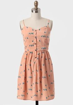 Cute As A Cockatoo Printed Dress - $39.99