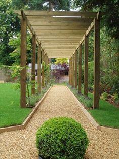 Royal Walkway Pergola (7.2m x 2.4m) #gardenvinespergolas #pergolakits