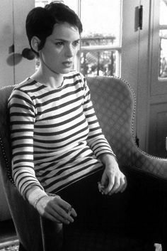 Winona Ryder as Susanna Kaysen, Girl, Interrupted.