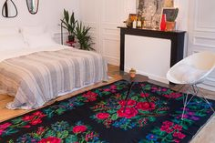 grand-tapis-en-laine_tapis-grande-taille_floral