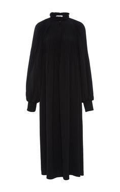 TIBI Edwardian Midi Dress. #tibi #cloth #dress