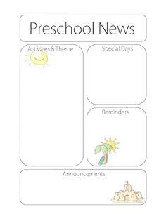 Ink Friendly Newsletters  School IdeasEla