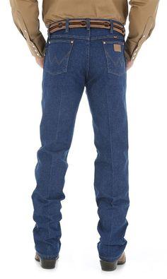 Wrangler Men's Original Fit Cowboy Cut Jean - Indigo -- Real cowboys wear Wrangler. | SouthTexasTack.com