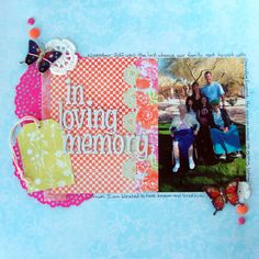 Ideas for Scrapbook Page Embellishment with Found Objects | Michelle Houghton | Get It Scrapped
