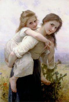 Pleasant Burden - William-Adolphe Bouguereau