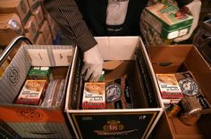 List of items food banks don't usually get and why people really appreciate getting them.