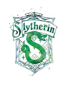 - Home Movie Tattoo – Slytherin Crest Aquarell Print Harry Potter Print Home Decor Abbildung Assist - Classe Harry Potter, Harry Potter Shop, Harry Potter Movies, Harry Potter World, Harry Potter Tattoos, Slytherin House, Hogwarts Houses, Slytherin Pride, Slytherin Traits