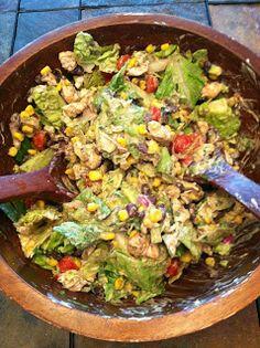 Coast to Closet: Chipotle Chicken Salad