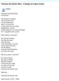 Poems Beautiful, Hart, Afrikaans, Word Art, South Africa, Lyrics, Poetry, Bullet Journal, Words