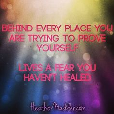 trying to prove yourself | Stop Trying to Prove Yourself…You're Good Enough RIGHT NOW!