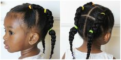 Piggy Back Hairstyle | Hairstyles with Braids | Video tutorial